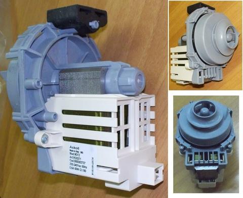 Насос рециркуляции посудомоечной машины Аристон 303737 зам.256523, 302800, 301047, 301919