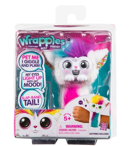 Интерактивная игрушка-браслет питомец Рэпплс Уна - Una Little Live Pets Wrapples, Moose
