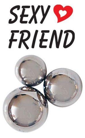 Набор из 3 вагинальных шариков без шнурка