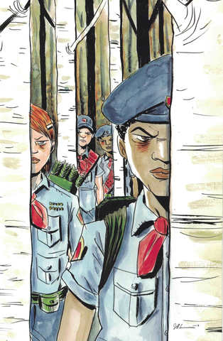 Black Badge #1 (Variant Cover by Jeff Lemire)