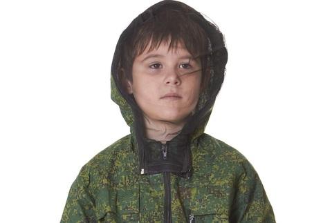 Маскхалат детский с москитной сеткой