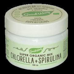 Хлорелла+спирулина микс, 100 гр. (GoodWay)