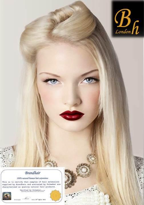 Набор Мега 9 прядей,цвет #613- maxi блонд -Вес набора 150 грамм