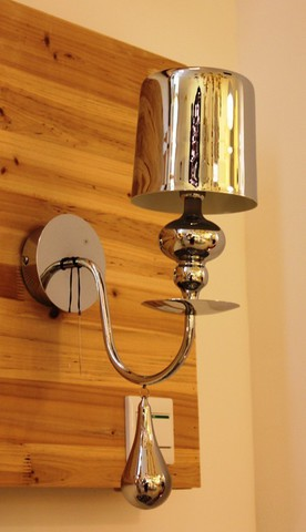 replica   EVA S1 wall lamp silver