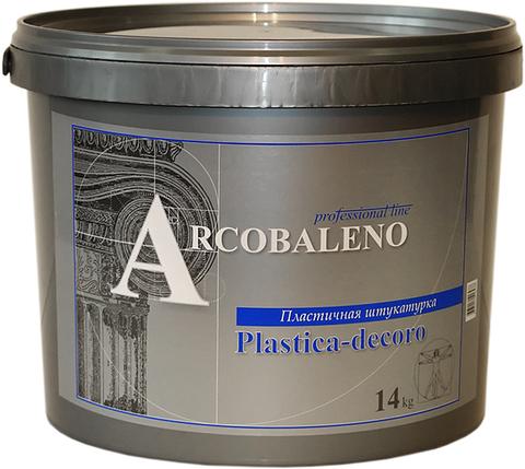 PLASTICA DECORO Пластичная штукатурка 14 кг.