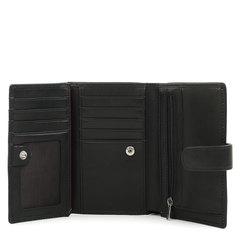 п024 Fiato  кожа наппа черный  (портмоне мужской)