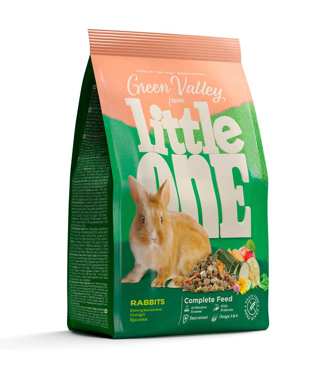 Грызуны и хорьки Корм Little One «Зеленая Долина» для кроликов 31110.jpg