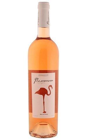 Вино Лефкадия Фламинго геог. наим. роз. сух. 0,75 14%