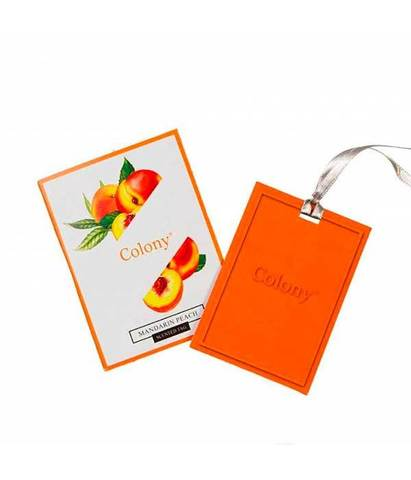Ароматическая карточка Мандарин и персик, Wax Lyrical
