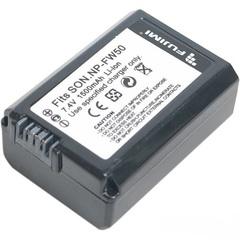Аккумулятор Fujimi NP-FW50 для Sony NEX 5 NEX 6 NEX 7 RX100 A7 A7II A3000 A3500 A5000