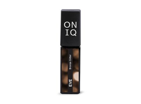 Гель-лак ONIQ Eve 122s - Bronze Glitter, 6 мл