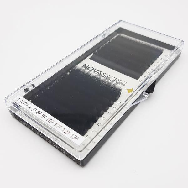 """NovaSecret Ресницы Novasecret BLANC Черные mix, изгиб """"L"""" Ресницы-Новасикрет-Blanc-mix-L.jpg"""