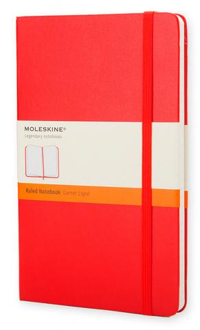 Блокнот Moleskine Classic Large, red, фото 2