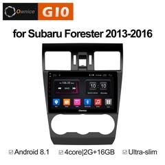 Штатная магнитола на Android 8.1 для Subaru Forester 13-16 Ownice G10 S9511E