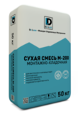 Монтажно-Кладочная смесь De Luxe М-200 50кг