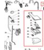 Бункер дозатора моющих средств (ванна) для стиральной машины Indesit (Индезит) в сборе- 282660
