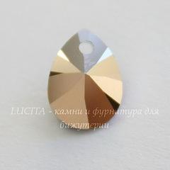 6128 Подвеска Сваровски Капля Crystal Rose Gold (8 мм)