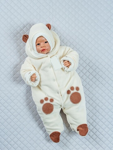 Комбинезон Little Bear молочный