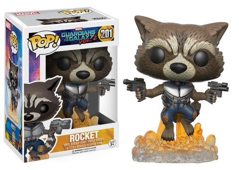 Funko POP! Bobble: Marvel: Guardians of the Galaxy 2: Rocket