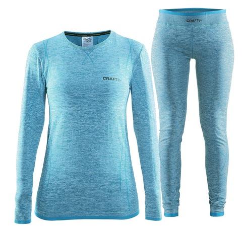 Комплект термобелья женский Craft Comfort (blue)