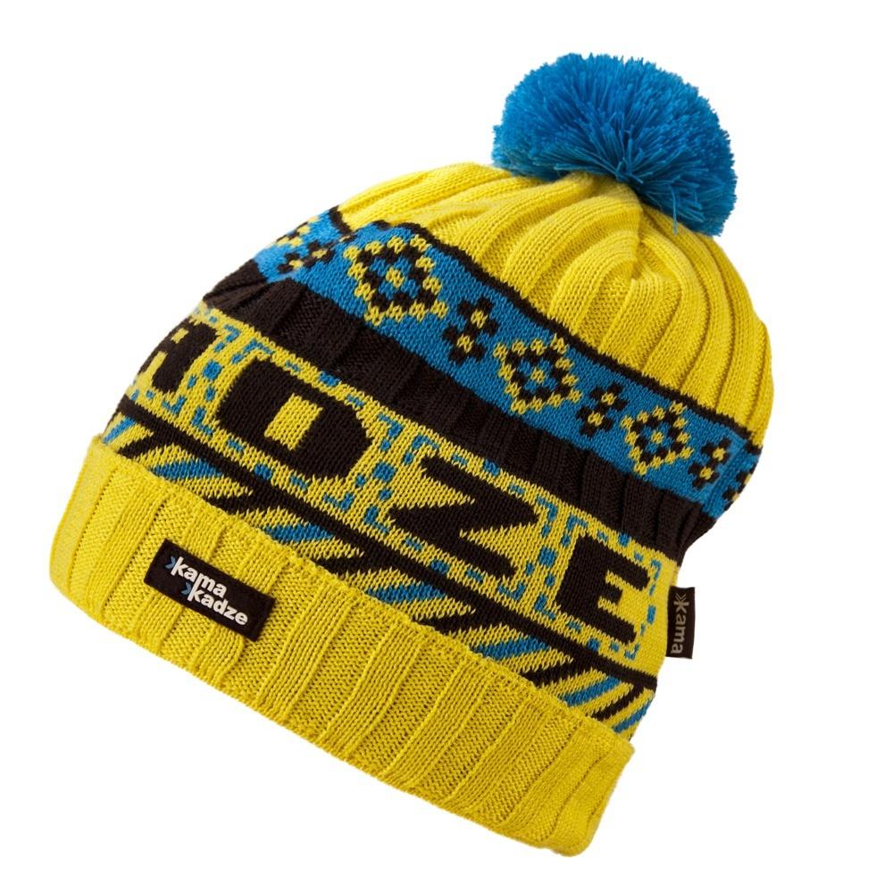 Шапки с помпоном Шапка с помпоном Kama K31 Yellow kamakadze-knitted-hat-k31-default.jpg