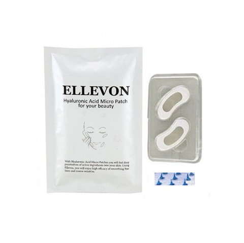 Ellevon Патчи c микроиглами Hyaluronic Acid Micro Patch
