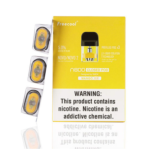 Картридж SMOK Freecool NOVO 2 Pod Mango Ice (Манго Лед) 5%