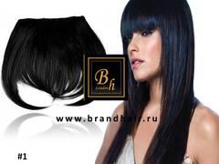 челка натуральные волосы