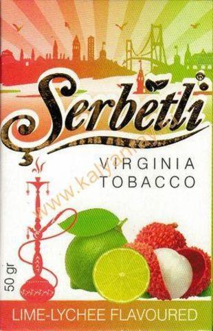 Купить табак Serbetli Lime Lychee в Рязани