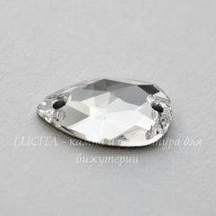 3230 Пришивные стразы Сваровски капля Crystal (12х7 мм)