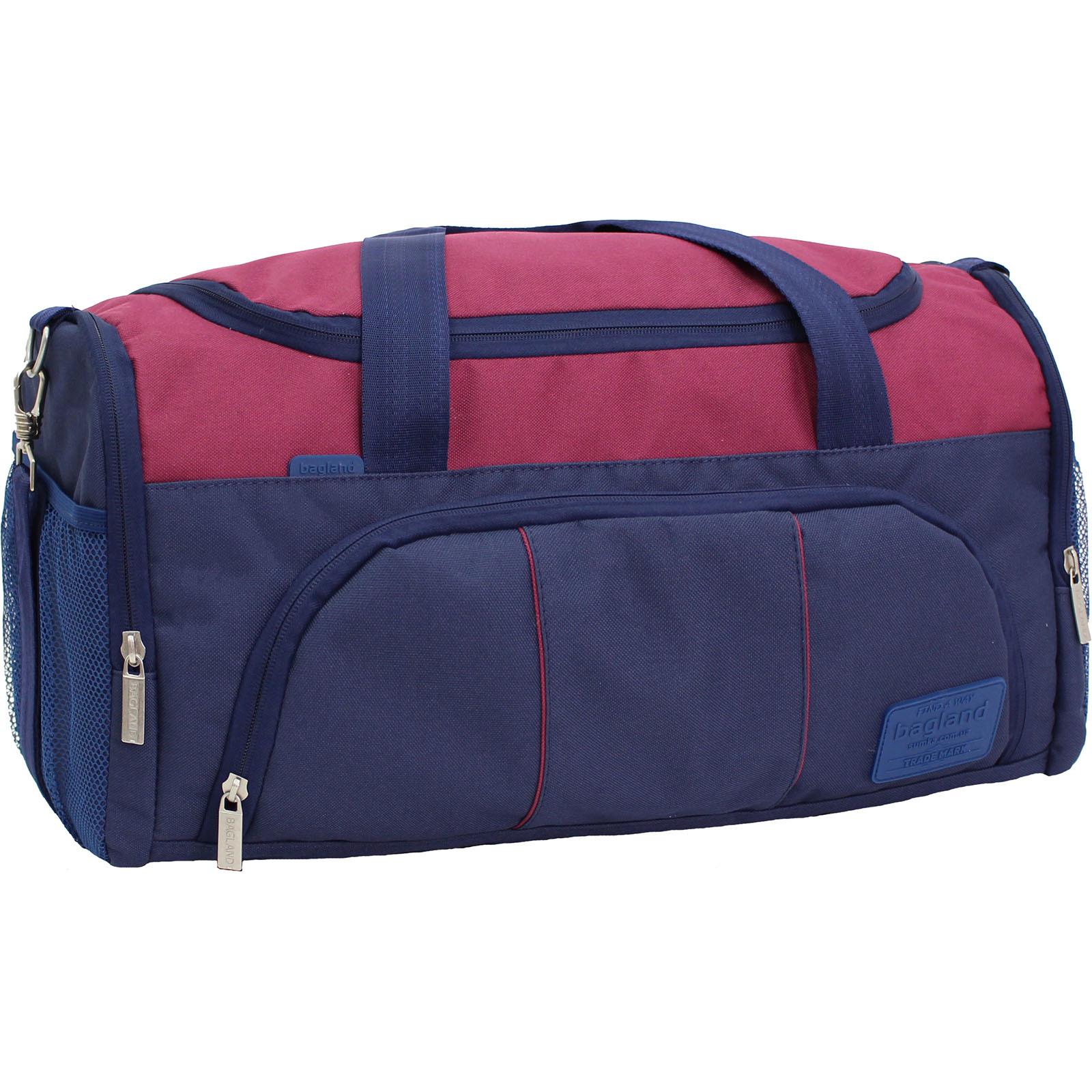 Спортивные сумки Сумка Bagland Bloom 30 л. 330 чорнильний/вишня (0030866) IMG_9605.JPG
