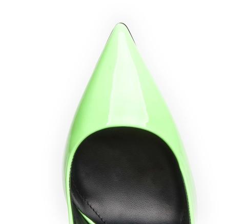 Туфли Gianmarco Lorenzi 3024 Салатовый