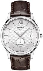Мужские швейцарские часы Tissot Tradition Automatic Small Second T063.428.16.038.00