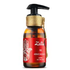 """Ароматическое массажное масло """"Огонь"""" (имбирь, корица, апельсин), Zeitun"""