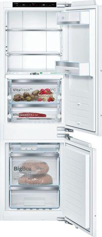 Встраиваемый двухкамерный холодильник Bosch KIF86HD20R