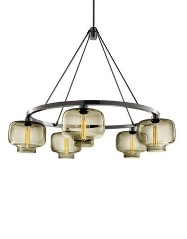 replica Niche Modern  Oculo chandelier (6 lamps)