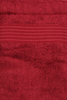 Полотенце 100х150 Hamam Meyzer Tassels малиновое