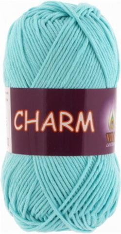 Пряжа Charm (Vita cotton) 4185 Светлая голубая бирюза