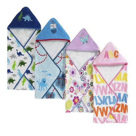 Полотенце детское 76x76 Kassatex Bambini Hooded Butterflies