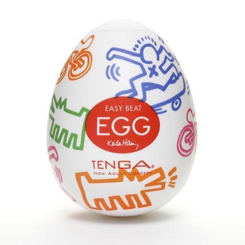Яйцо мастурбатор TENGA&Keith Haring Egg Street