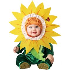 InCharacter Costumes Baby - Sunflower