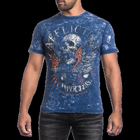 Двухсторонняя футболка Affliction Wild Wing