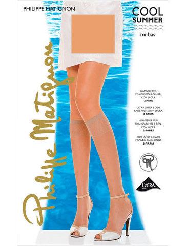 Гольфы Cool Summer 8 Mi Bas (2 пары) Philippe Matignon