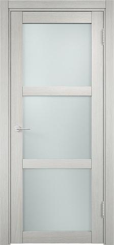 Дверь Eldorf Баден 02, стекло Сатинато, цвет слоновая кость, остекленная