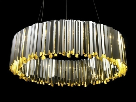 chandelier replica Facet by INNERMOST ( diam . 100) chrome