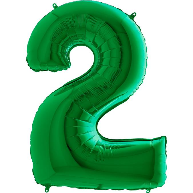 Шары цифры Шар цифра 2 Зеленая 032gr-number-2-green.jpg