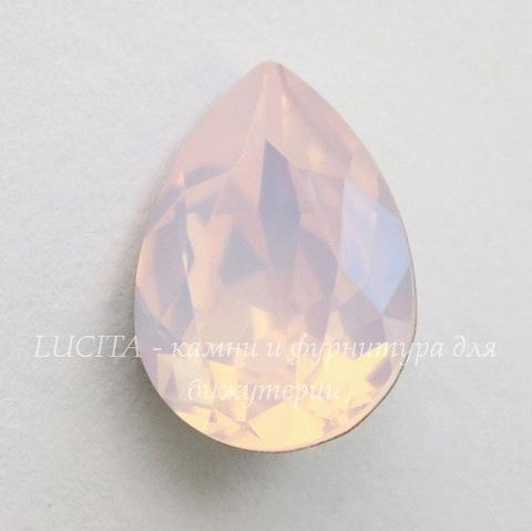 4320 Ювелирные стразы Сваровски Капля Rose Water Opal (14х10 мм)