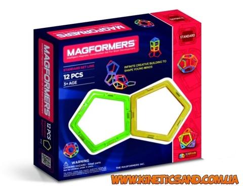Magformers 12 элементов, Базовый набор Магформерс