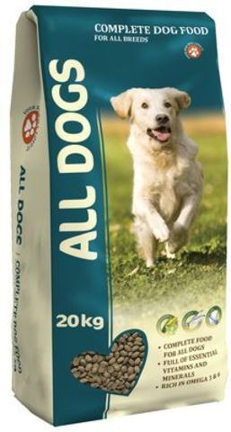 ALL DOGS Корм для собак 20 кг.