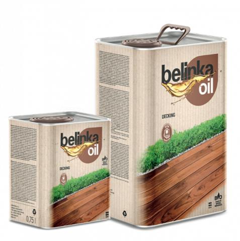 Belinka Oil Decking цветное масло